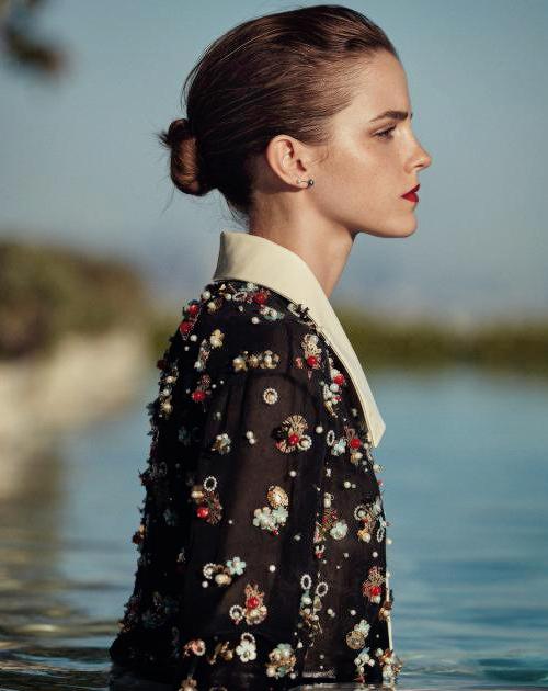 "jonrsnow: "" Emma Watson photographed by Cass Bird for Porter Magazine 2015 """