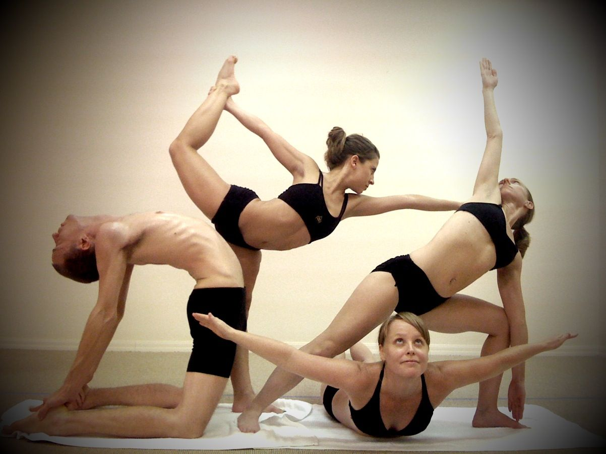 Discover Ideas About Group Yoga Poses