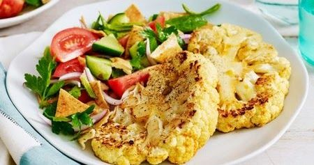 Get this easy to follow recipe for cauliflower steaks with fattoush get this easy to follow recipe for cauliflower steaks with fattoush from the arabic forumfinder Choice Image
