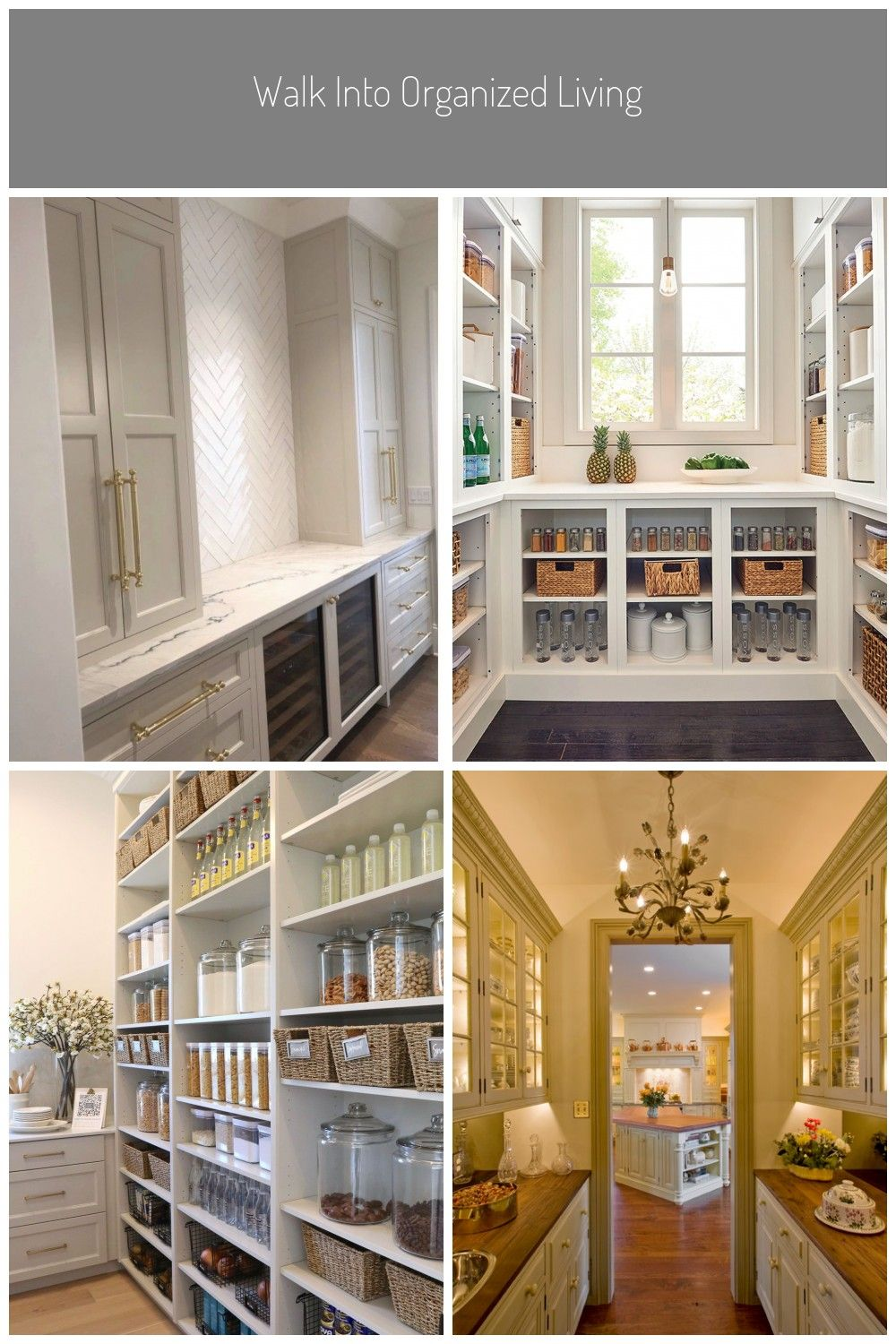 Butler Pantry Ideas Design Farmhouseupgrade Your Pantry And Get Organizedsee Our Recap Of Beautiful Home In 2020 Kitchen Inspiration Design Pantry Design Butler Pantry