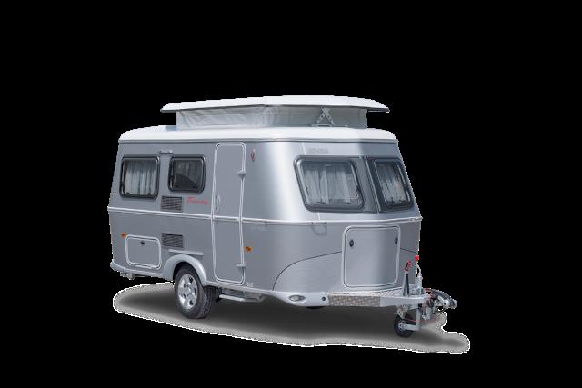 kleine wohnwagen silver edition eriba touring triton 430. Black Bedroom Furniture Sets. Home Design Ideas