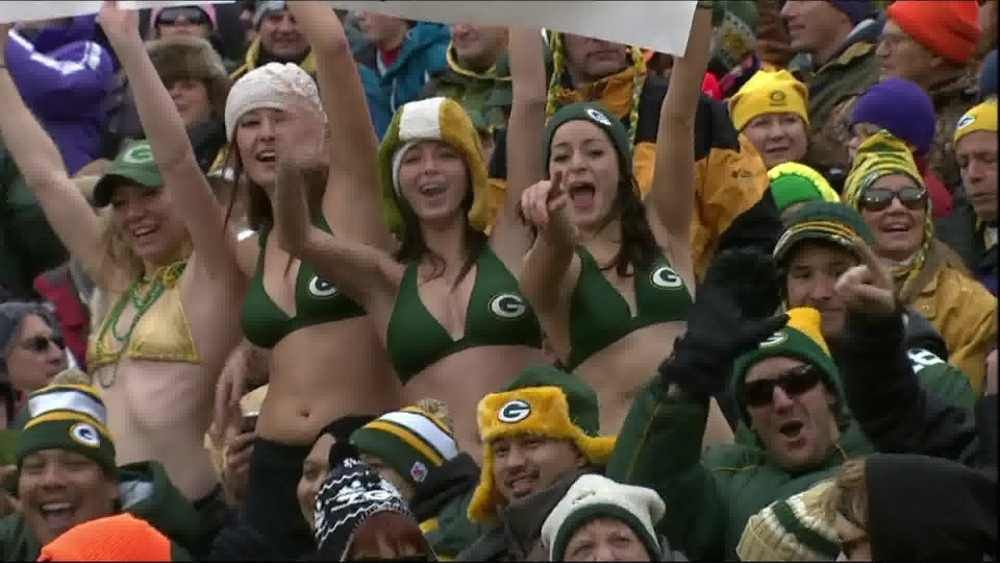 Green Bay Packers Fan Is Upset With All The Bras At Lambeau Field...What?