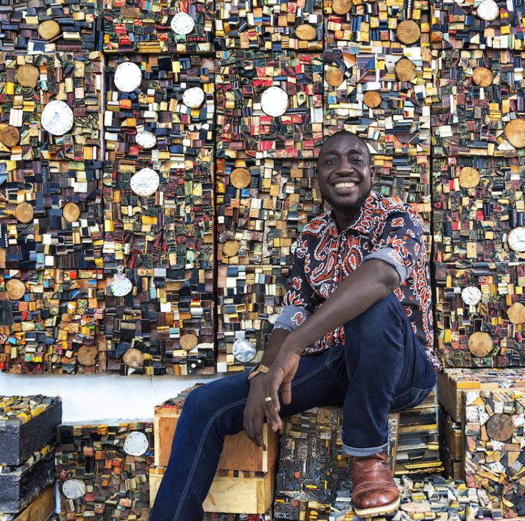 Gerald Chukwuma: the ex-hawker who turns drinks cans into works of ...