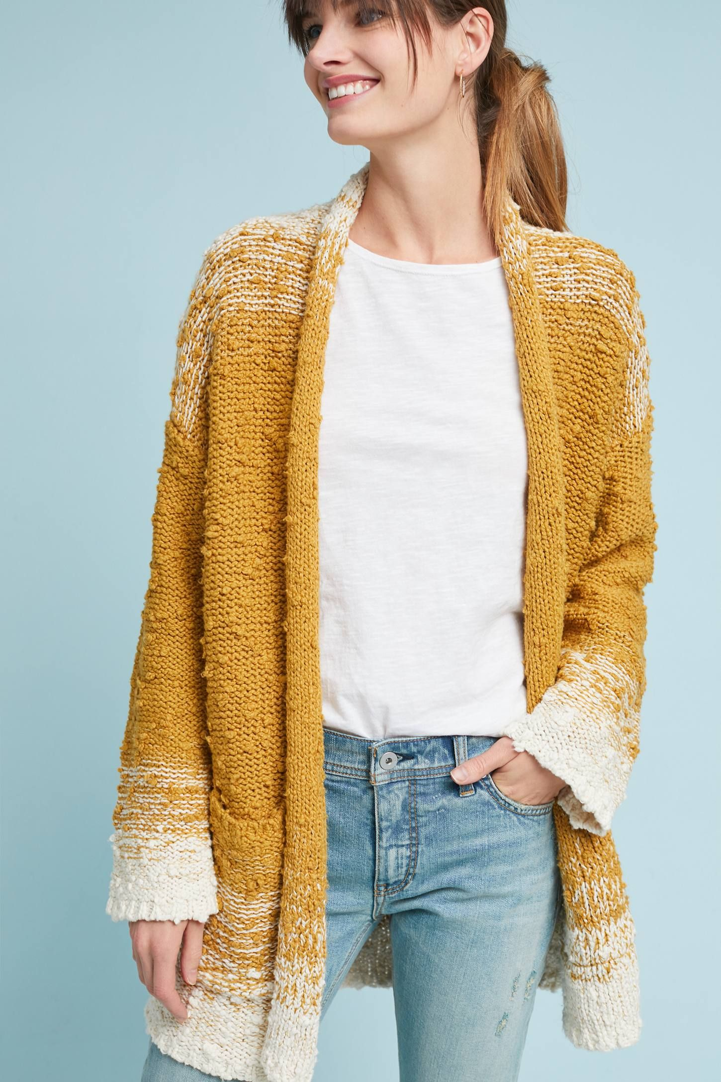 a5747c9259b Shop the Space-Dyed Cardigan and more Anthropologie at Anthropologie today. Read  customer reviews