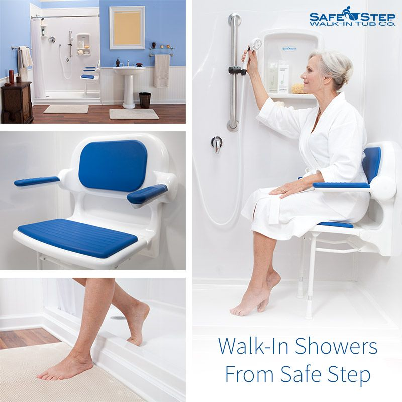 Safe Step also manufactures safe walk-in showers! Featuring a low step-in, built-in safety seat and grab bars, easy to use controls and much more. See more: http://www.safesteptub.com/walk-in-showers