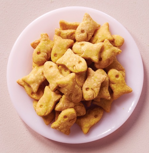 Recipe Homemade Goldfish Crackers Vegan Recipelink Com Homemade Cheese Crackers Goldfish Recipes Homemade Goldfish Crackers