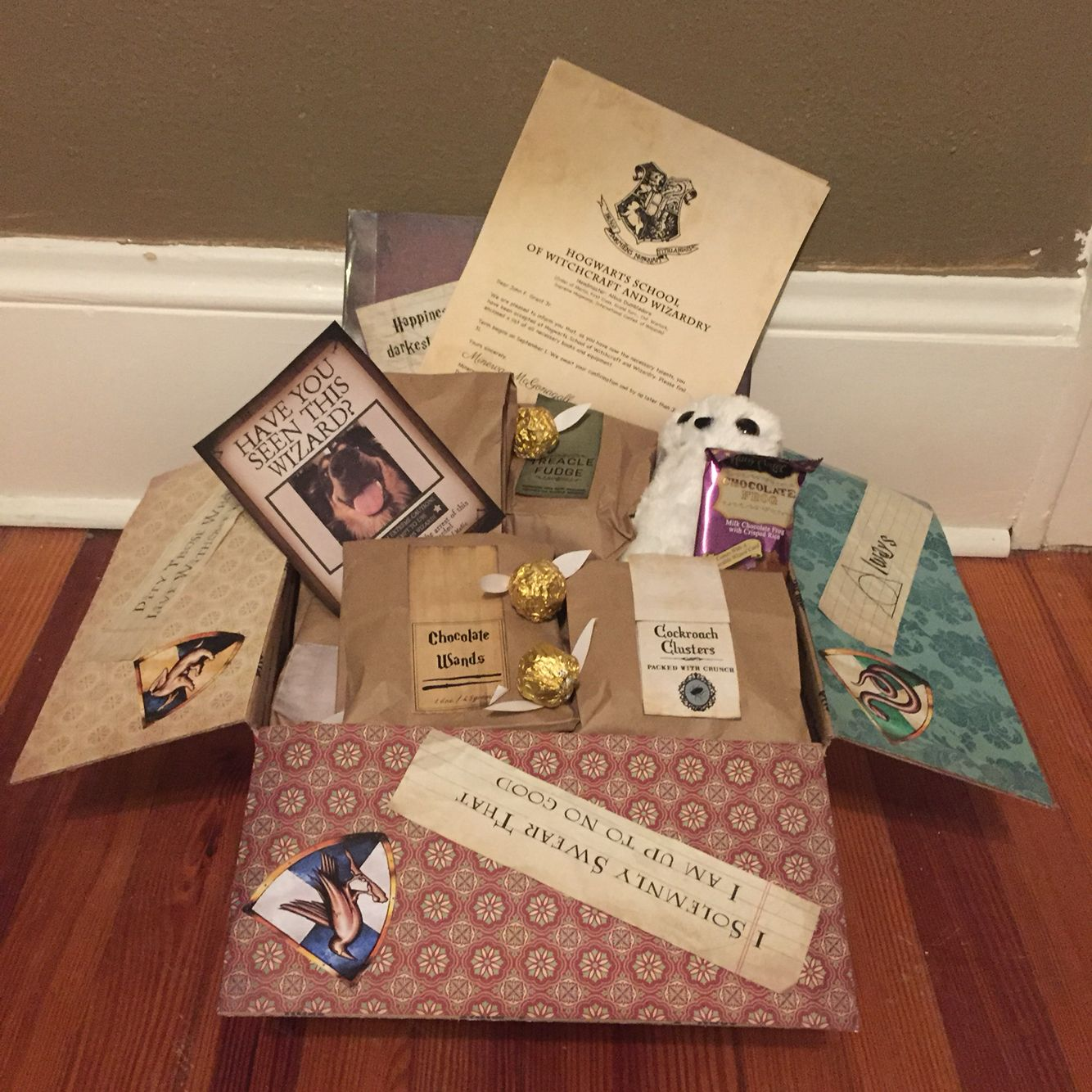 Personalised Christmas Harry Potter Gift Acceptance Letter Unique Xmas Gift K