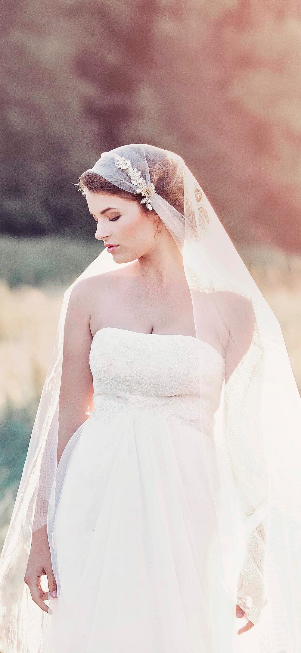 Buy Vintage Exclusive veil for beautiful bridals pictures trends
