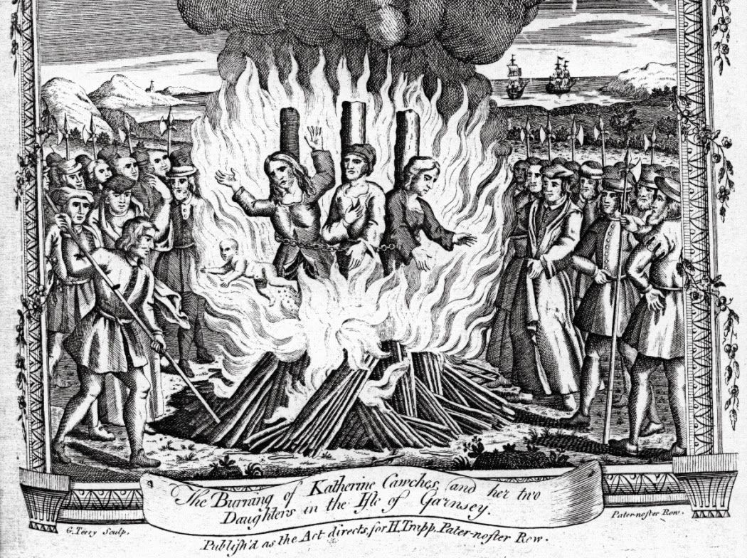 The Execution In 1555 Of John Rogers 1500 1555 Is Portrayed Here In The 9th Edition Of The Famous Protestant Martyrology Fox S Book Middle Ages Art Martyrs