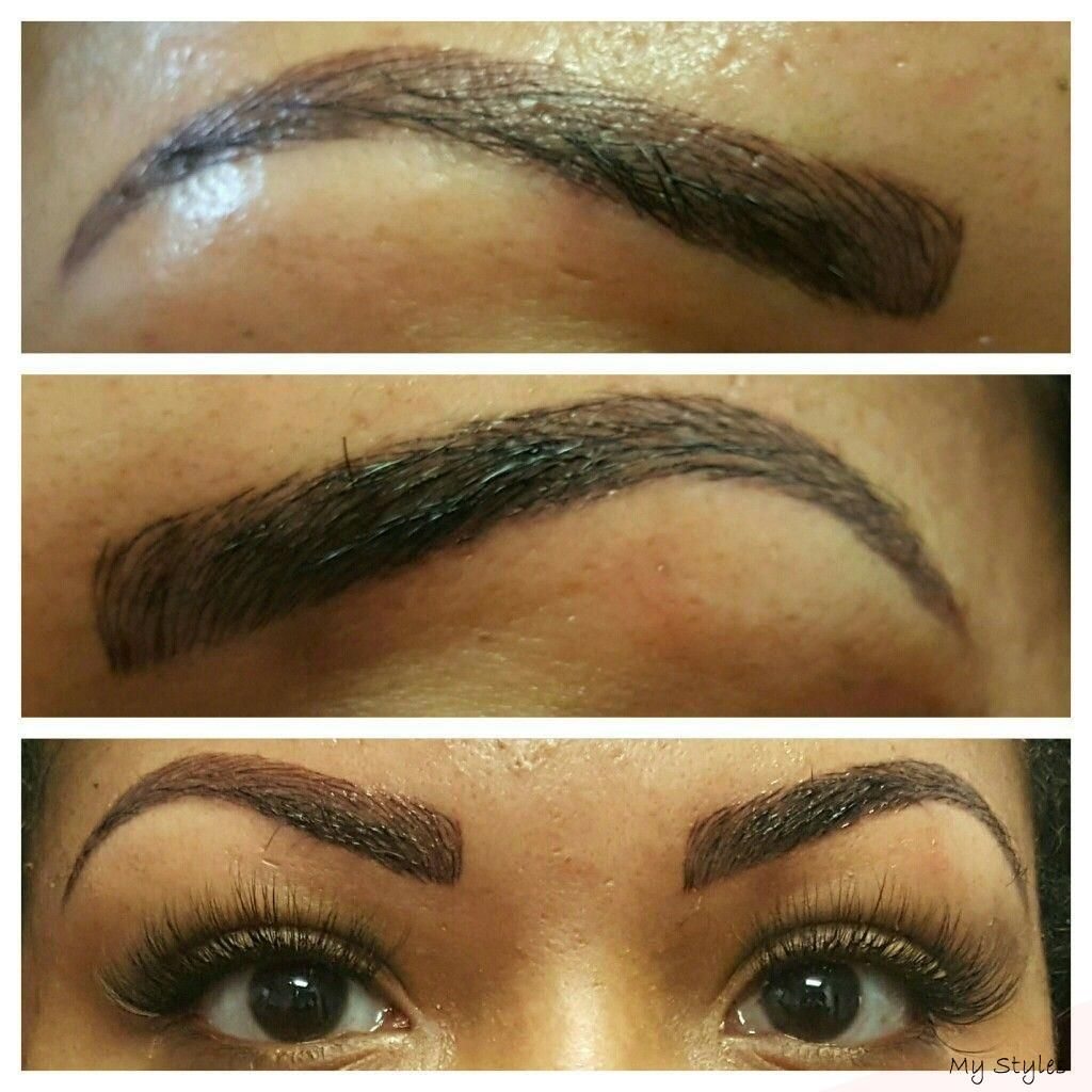 Microblading 3D Eyebrows Permanent Makeup BeautyTricksDiy