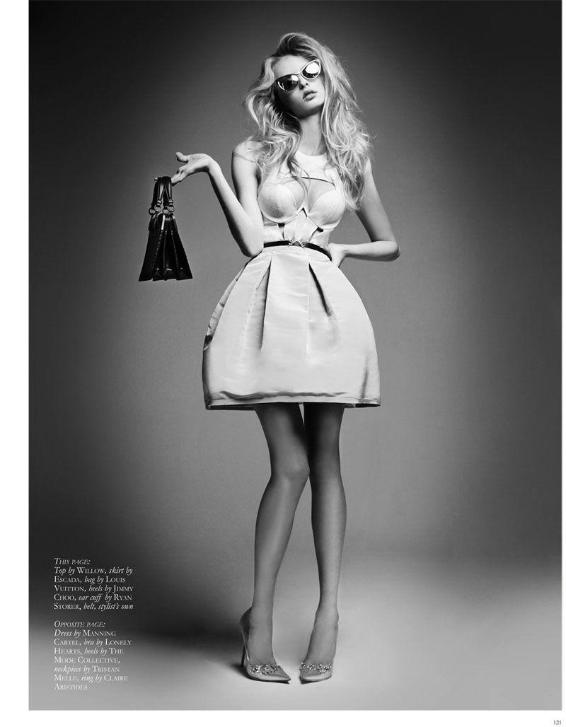 Photo of Thom Kerr Shoots Eva Downey for Black Magazine Fashion Feature