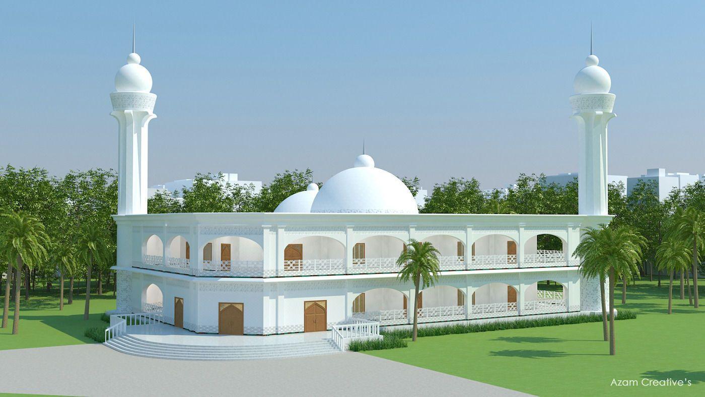 Masjid Architecture 3D model Masjid, Architecture, 3d
