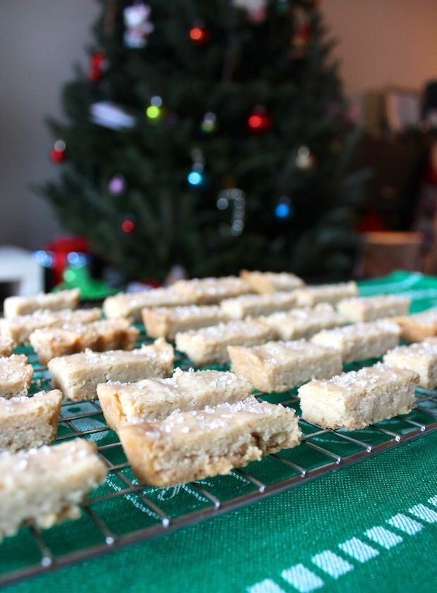 Twice Baked Shortbread at Christmas...