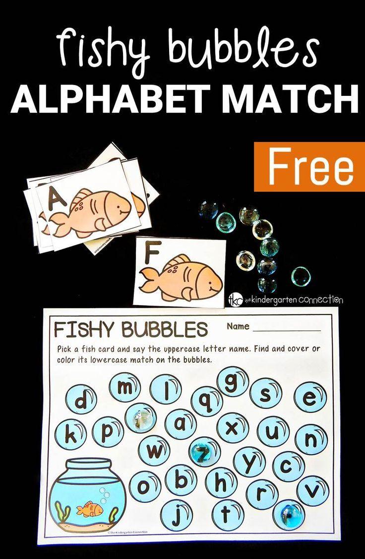 Fishy Bubbles Alphabet Match | Kind