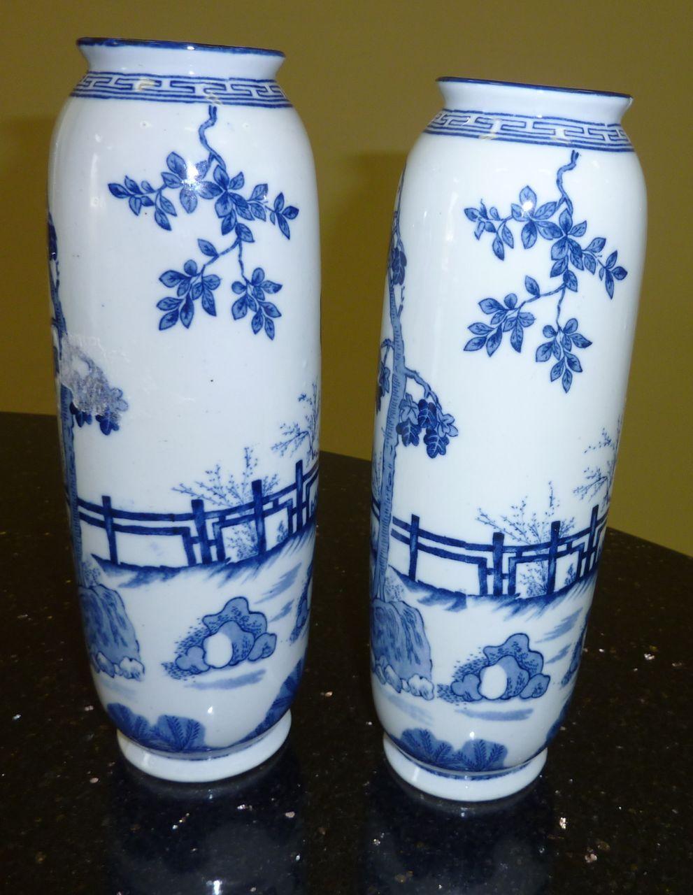 Blue and white vases blue and white pinterest white vases blue and white vases floridaeventfo Images