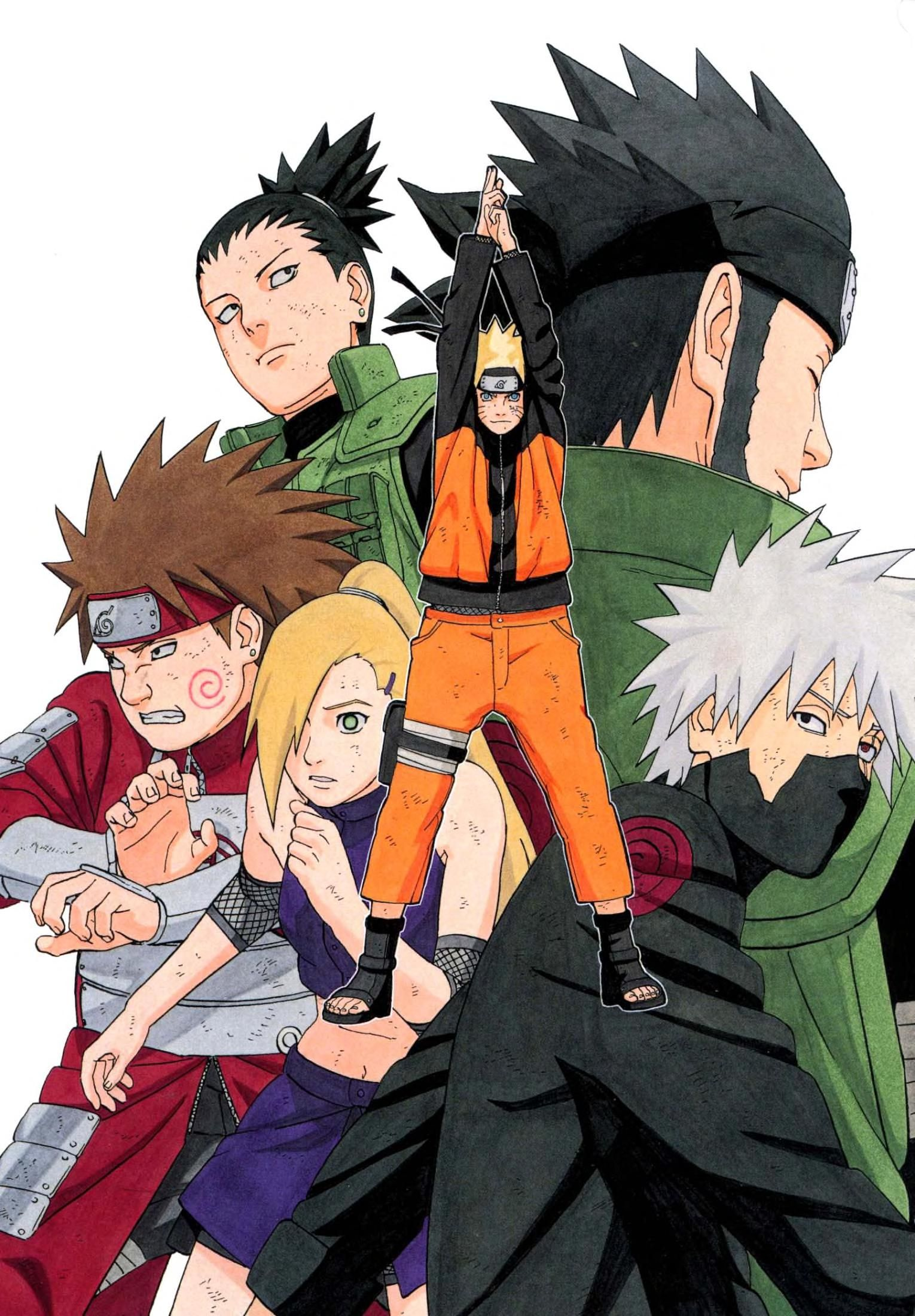 Photo of Naruto Artbook 2 : Free Download, Borrow, and Streaming : Internet Archive