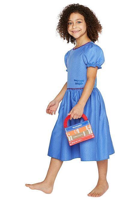 956afdacb22 Tesco direct  Roald Dahl Matilda Dress-Up Costume