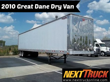 Our Featured Trailer Is A 2010 Great Dane Dry Van 48 X 102