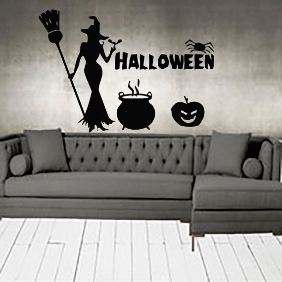 halloween wall decals pumpkin decal vinyl sticker nursery on wall stickers for hall id=98221