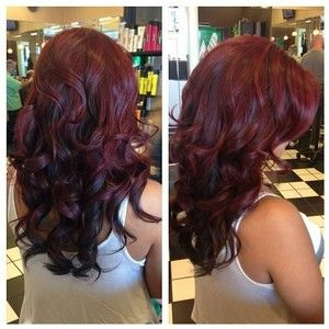 Subtle Highlights With Dark Chocolate Hair Color
