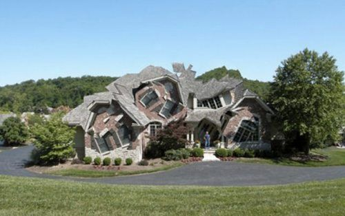 Unusual house...
