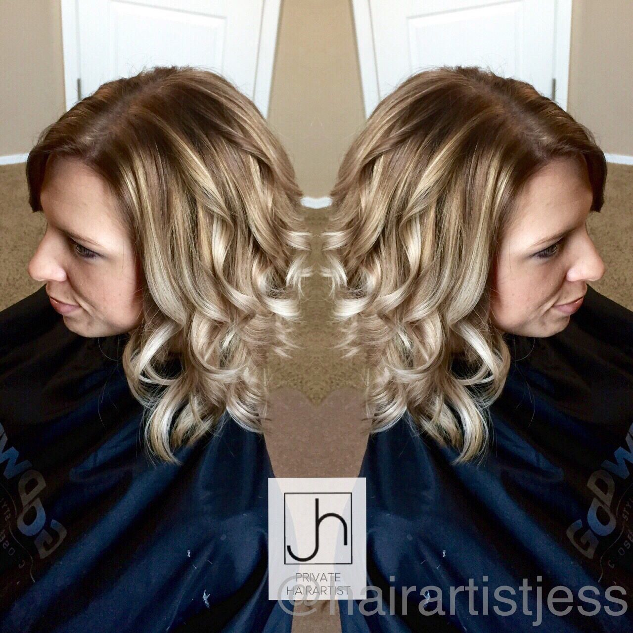 Dimensional blonde Balayage @hairartistjess