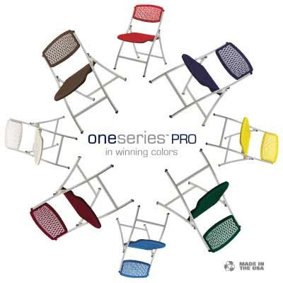 Oneseries Pro Folding Chair Flexible Plastic Folding Chair
