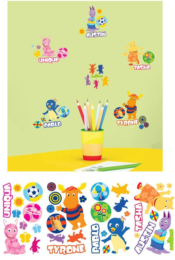 The Backyardigans Wall Decals SALE - Wall Sticker Outlet ...