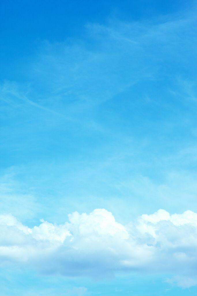 Blue Sky Ceu Azul Nuvens Aquarela Nuvem