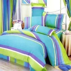 Turquoise Aqua Blue And Lime Green Bedding For Less Another Fab Color Scheme S