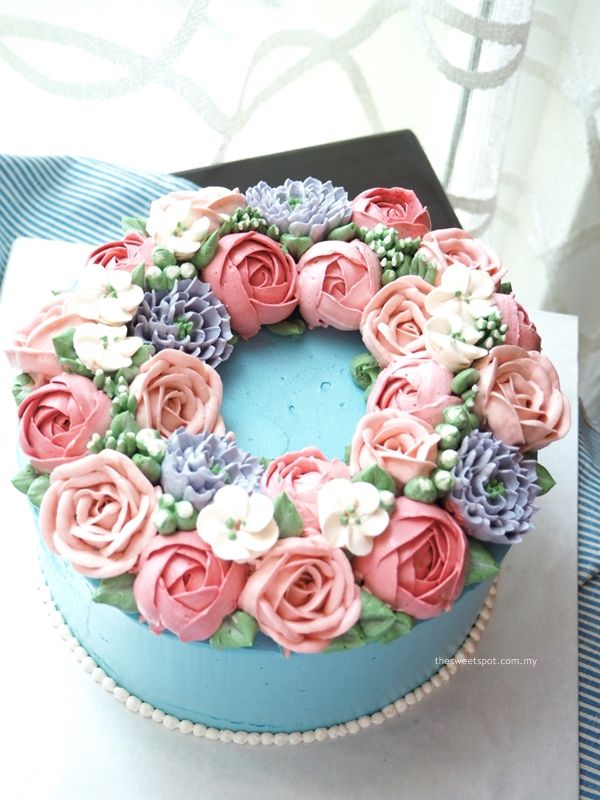 Click to Close BUTTERCREAM CAKE Pinterest Buttercream flower