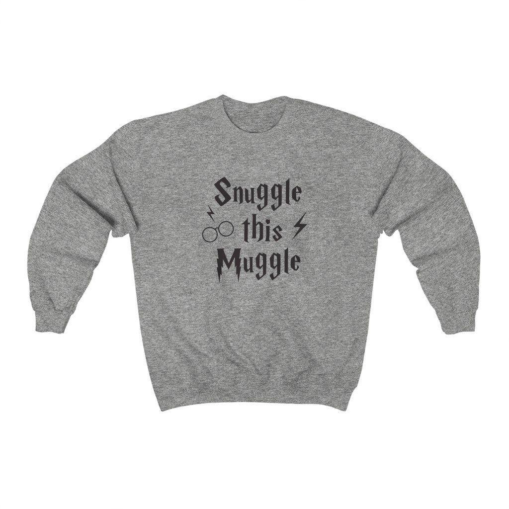 Snuggle This Muggle – Sweatshirt – 3XL / Sport Grey