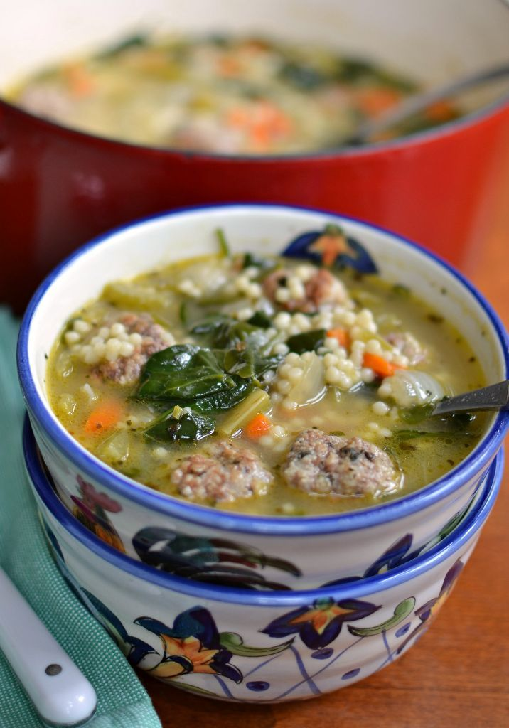 Healthy Italian Wedding Soup (VIDEO) - A Spicy Perspective