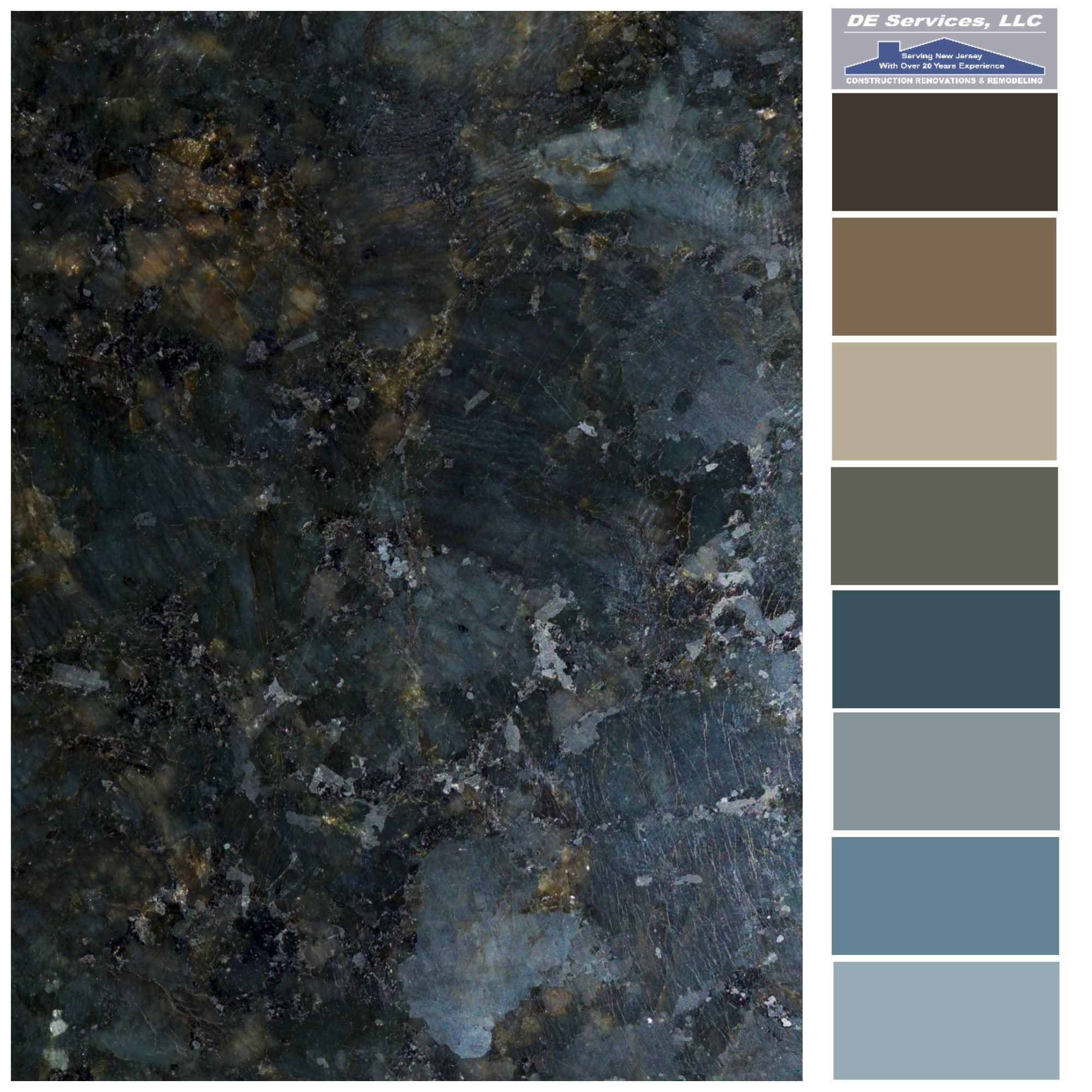 Kitchen Granite Color Combinations: DE Color Palettes In 2019