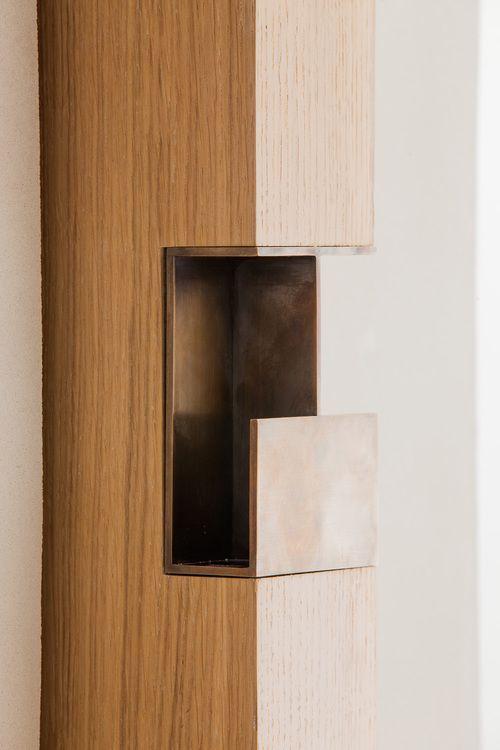 Griff Schiebet 252 R Holz David Chipperfield Sliding Door