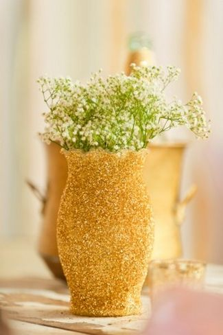20 Diy Glitter Wedding Theme Ideas Inspiration Pinterest