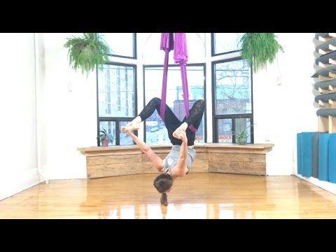 youtube  yoga  air yoga aerial yoga hammock aerial yoga