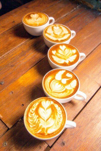 Kaffee mit Motiv