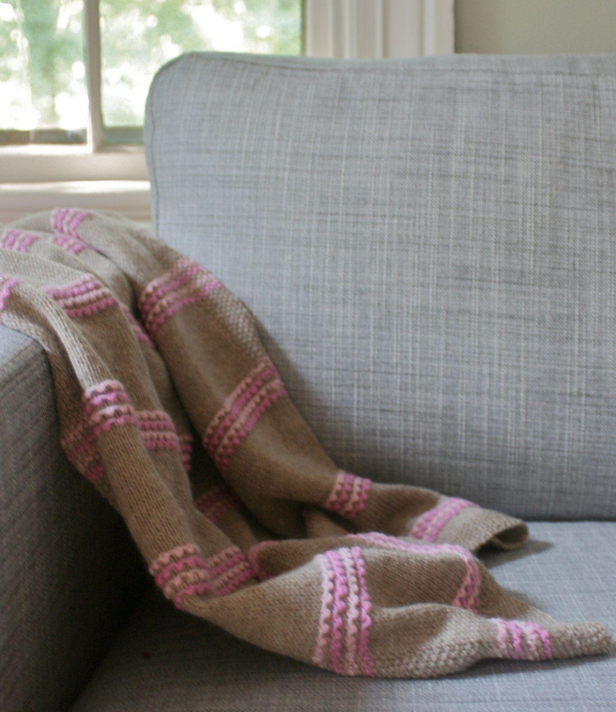 Simple Baby Blanket Knitting Pattern | Knitting Envy | Pinterest ...