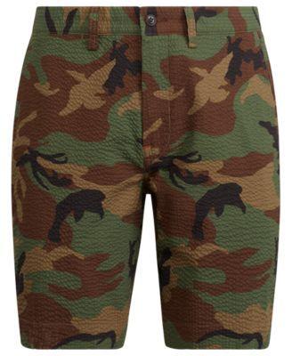 bdf19d8139 Polo Ralph Lauren Men's Big & Tall Classic Fit Cotton Camouflage Shorts -  Surplus Camo 54B