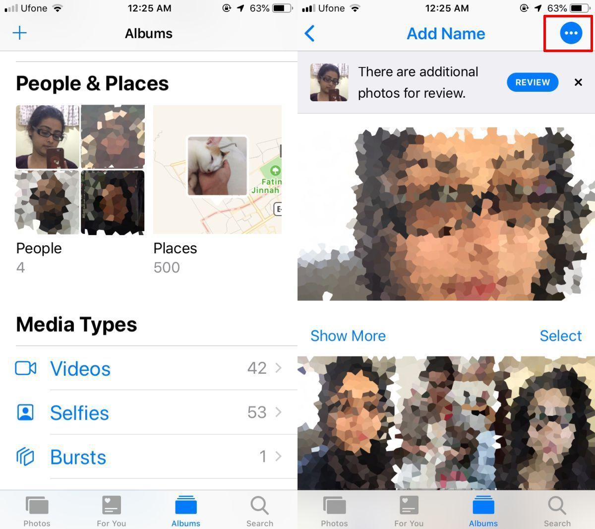How To Remove People From Photos App On iOS 12 Photo