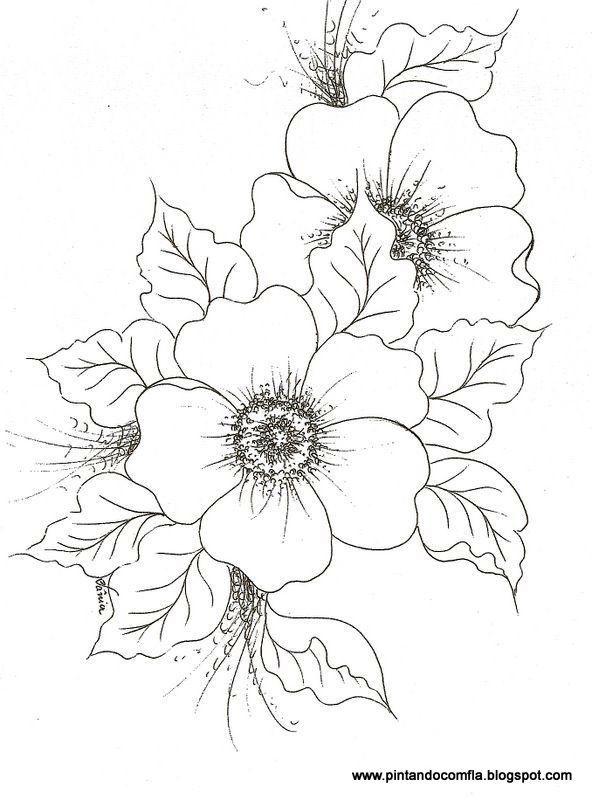 Diversos Riscos Flavia Ribeiro Picasa Web Al Flower Design Drawing Drawings