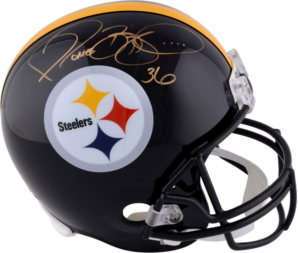 b6bea2387 Jerome Bettis Steelers Autographed Authentic Riddell Replica Helmet -  Fanatics  FootballHelmet  sportsmemorabilia  autograph