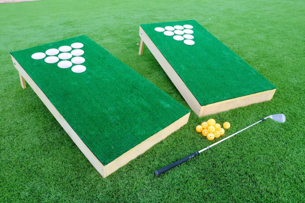 Make Your Own Backyard Chip Shot Golf Game (With images