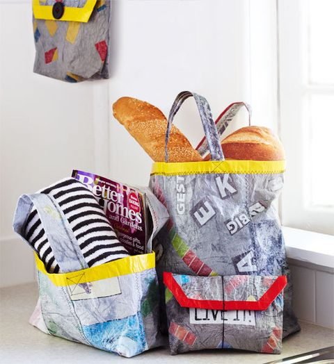 How To Make Bags From Recycled Plastic Bags Better Homes