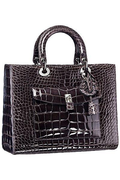 Dior Crocodile Bag 2014 Fall-Winter Sacs À Main De Créateurs, Sac À Main f1c09aea750