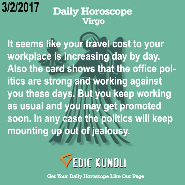 virgo today horoscope