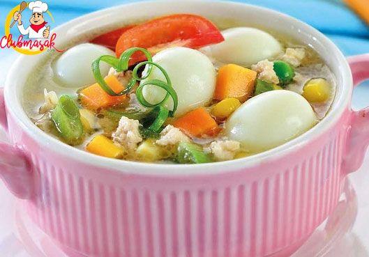 Resep Hidangan Lauk Sapo Telur Puyuh Masakan Sehat Untuk Diet Club Masak Sup Krim Jamur Resep Sup Sup Jamur
