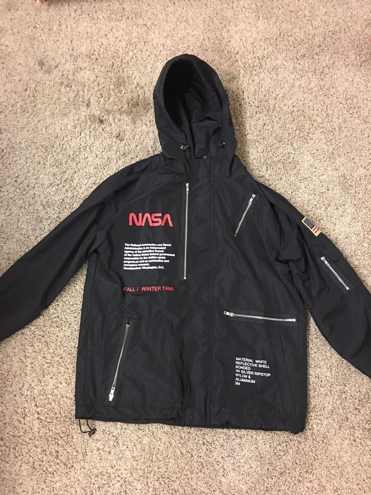 Heron Preston Nasa Jacket  fashion  clothing  shoes  accessories   mensclothing  coatsjackets (ebay link) 9352a91d4