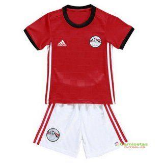 ae8a4eac46e4a Egipto Nino Conjunto Completo Casa Camiseta 2018 ...